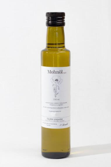 Mohnöl nativ Bio kaltgepresst