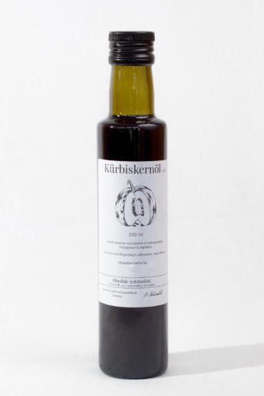 Kürbiskernöl nativ Bio kaltgepresst