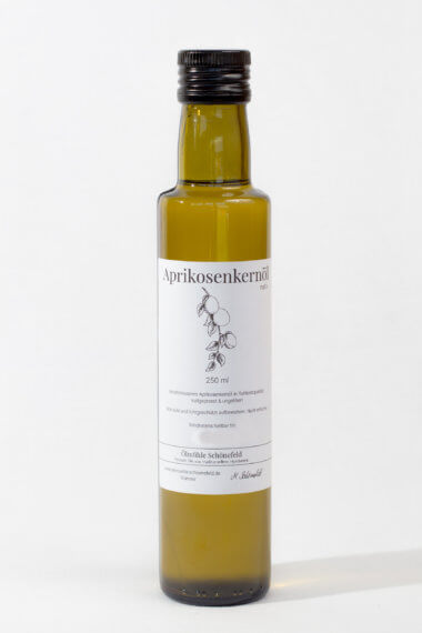 Aprikosenkernöl nativ Bio kaltgepresst