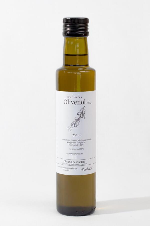 griechisches Olivenöl extra nativ