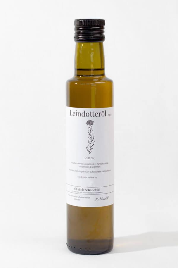 Leindotteröl nativ Bio kaltgepresst