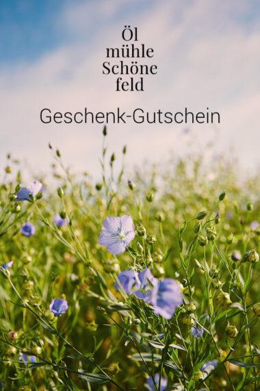 Ölmühle Schönefeld Geschenk-Gutschein