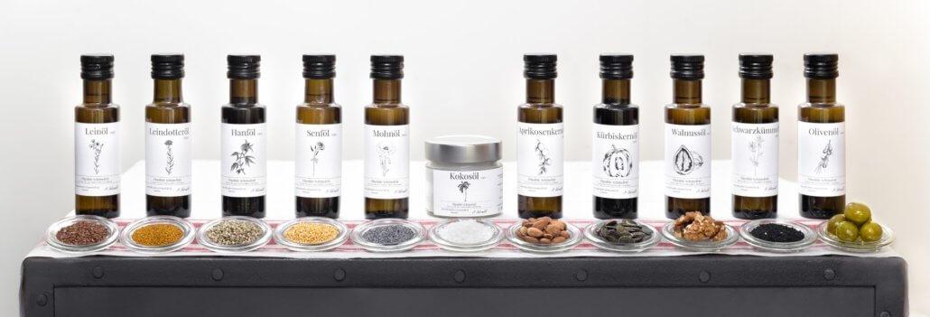 Ölmühle Schönefeld - - Produkte