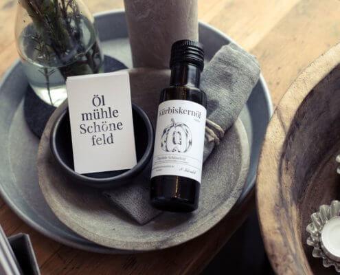 Ölmühle Schönefeld Kürbiskernöl